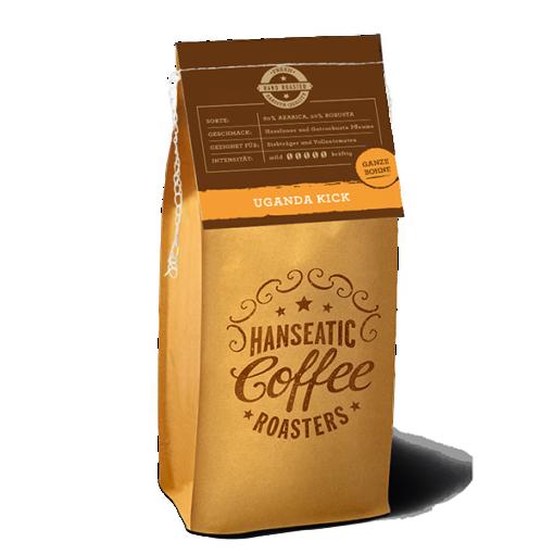 Hanseatic Coffee Roasters Uganda Kick Abonauten
